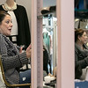 Owner of Southern Daisies Boutique in Leominster Jenna Charon talks about her new shop on Wednesday, Jan. 8, 2020. Here she is reflected in a full length mirrors she has in her shop. SENTINEL & ENTERPRISE/JOHN LOVE