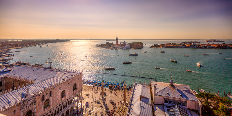 Venice from the St Mark's Campanile