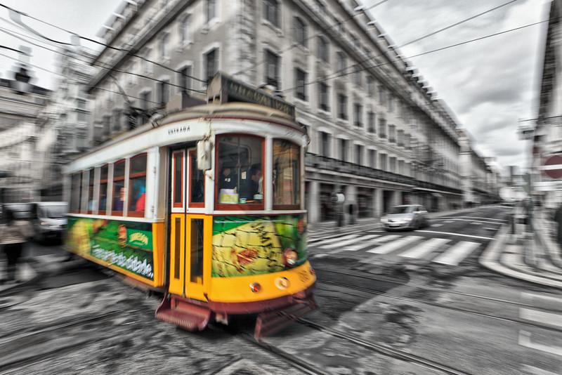 Portugal, Lisbon tram 28