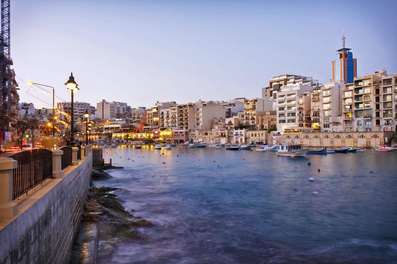 Malta, St Julian's bay