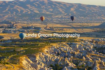 Balloons Across Cappadocia
