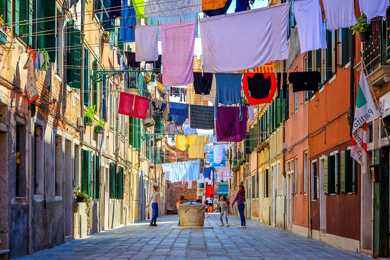 Life in Venice Italy