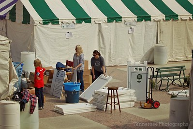 Southern Festival of Books 10/14-16/17 Set-Up