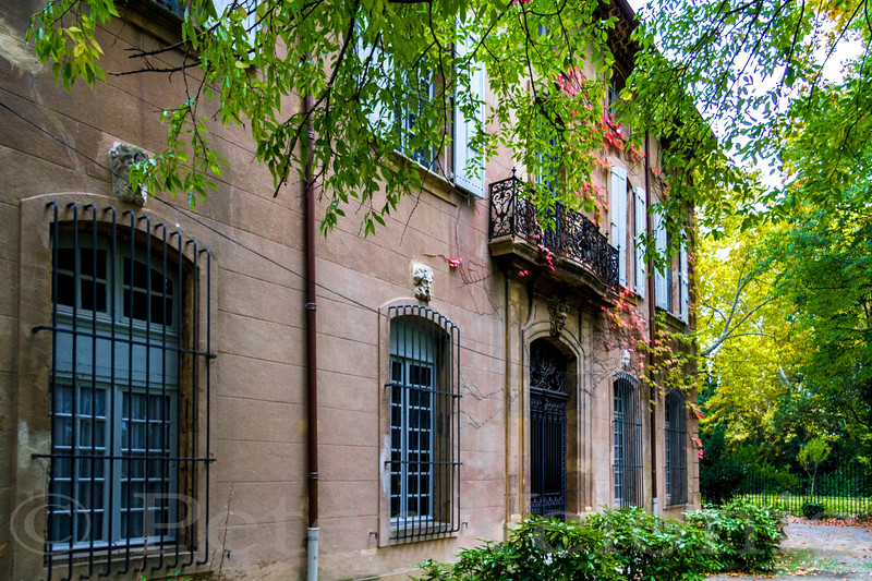 Cezanne's estate near Aix-en-Provence