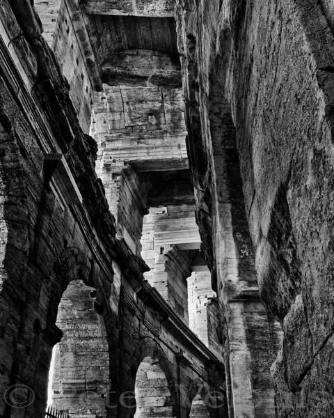 Roman ruins in Arles