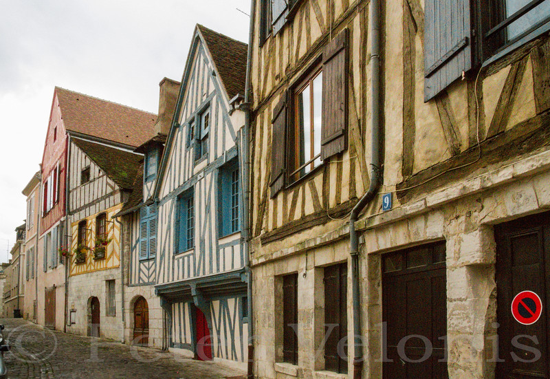 Auxerre facades