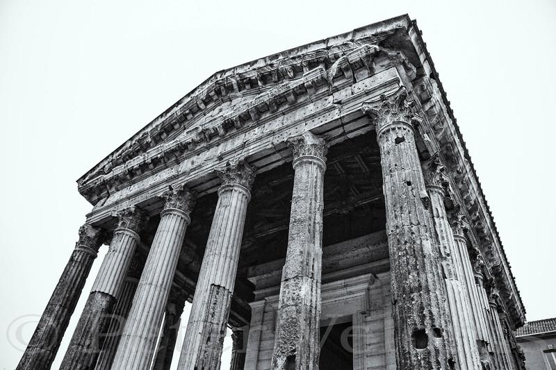 Ancient Ruins - Temple of Emperor Augustis & Livia.