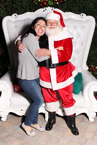Southern Highland's Tree Lighting Event Santa Photos
