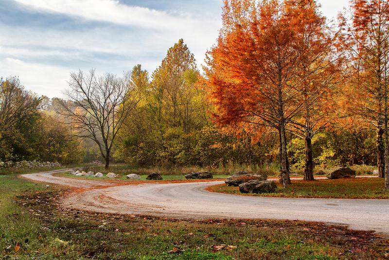 Fall Colors at Kincaid Lake Spillway
