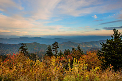 Clingman's Fall Sunset