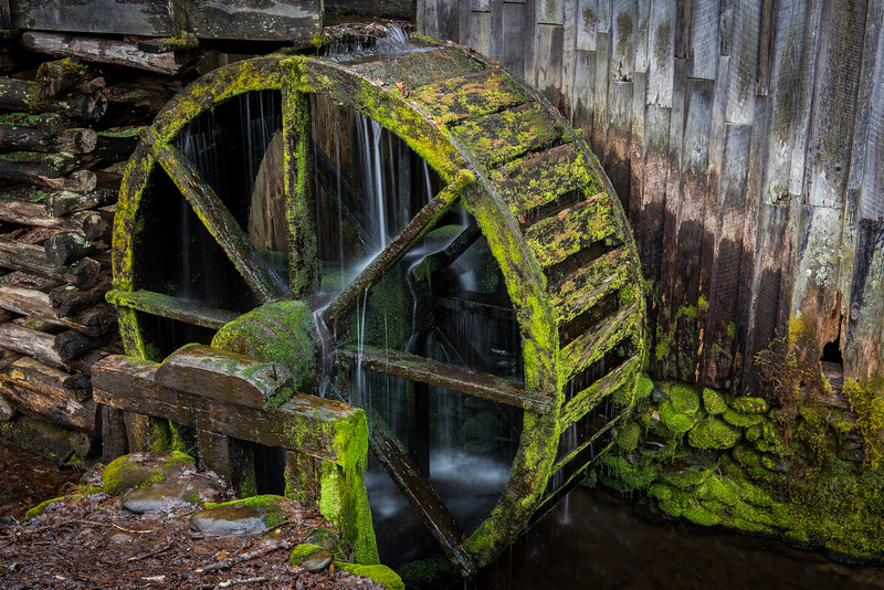 Cable Mill in Green