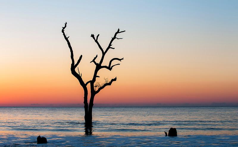 Sunrise at Hunting Island State Park