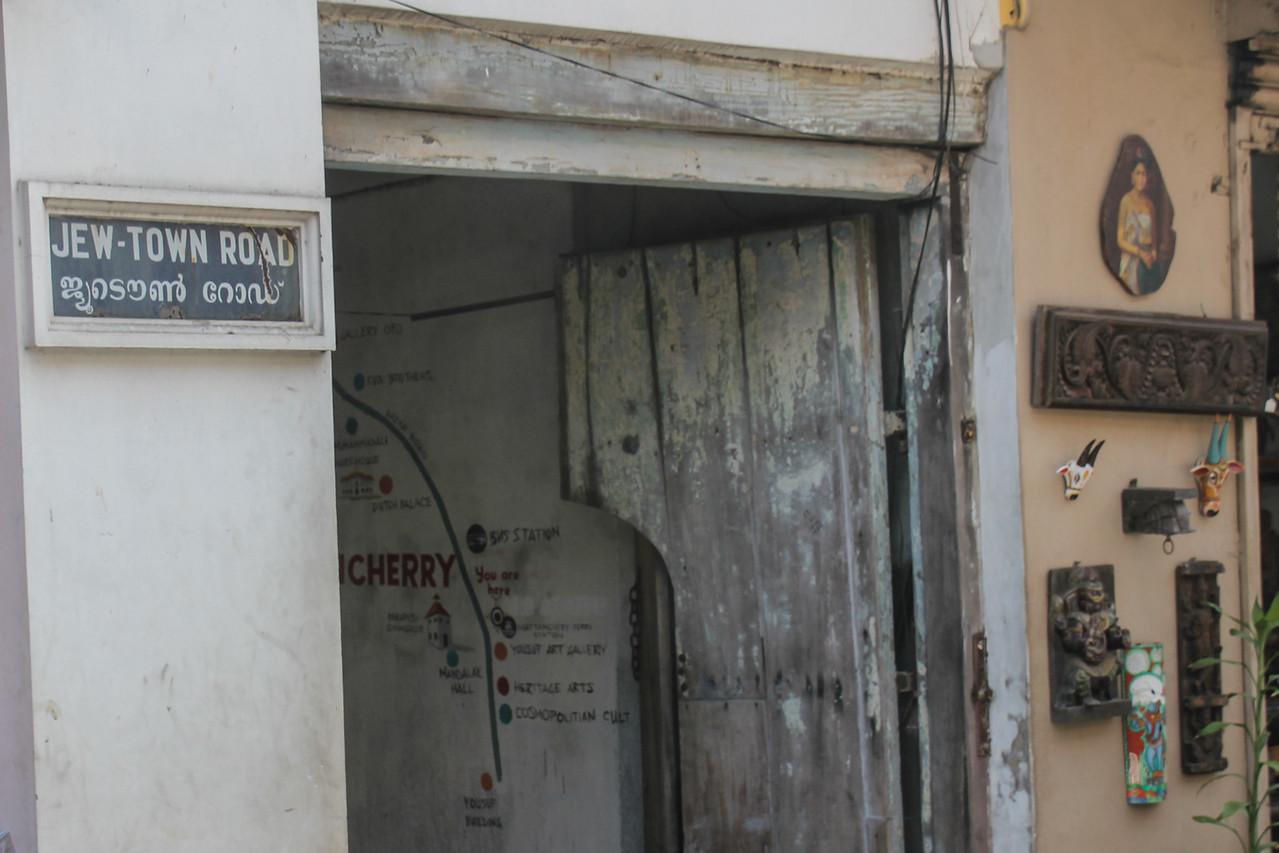 """""""Jew Town"""" Road"""