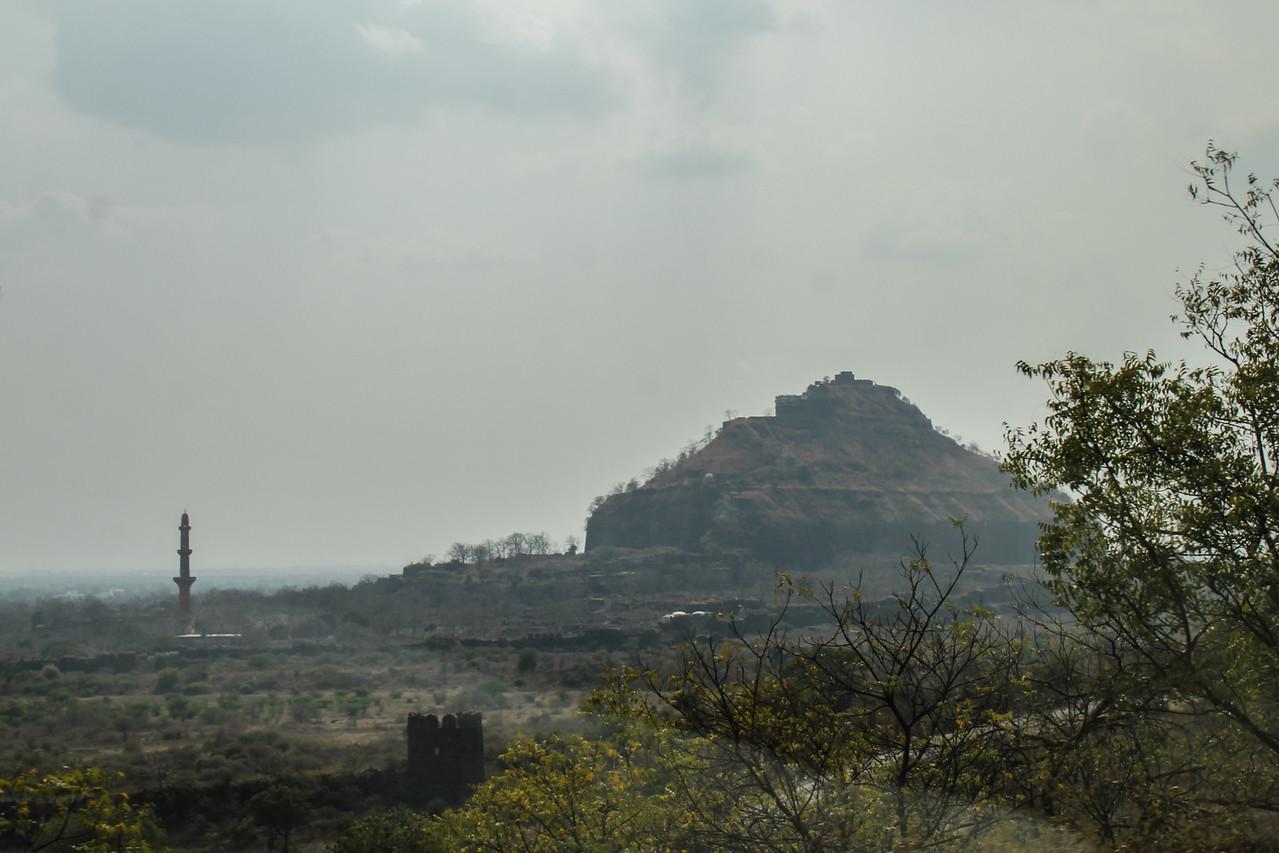 Daulatabad Fort (14th C)