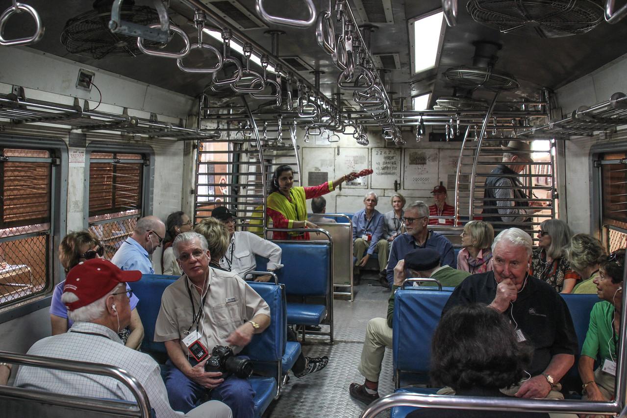 Mumbai Commuter Train