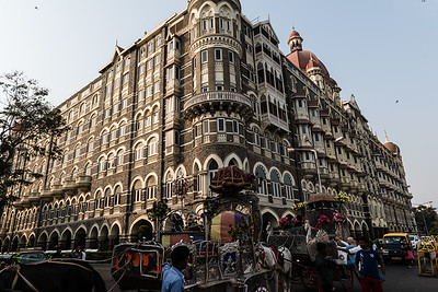 The famous Taj Hotel.