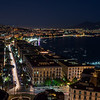 Naples Italy at night