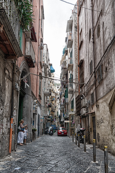 The grittier side of Naples Italy.