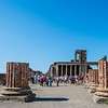 Archeological excavations at Pompeii uncovered the ruins of the Temple of Apollo built in 120 BC.