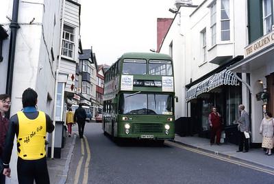 Southern National 609 Lyme Regis May 86 jpg