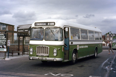 Southern National 1468 Bridgewater Bus Stn 1 May 86