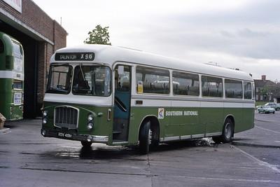 Southern National 1468 Taunton Depot May 86 jpg