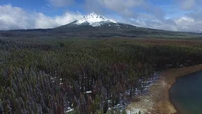 3 Fourmile Lake and Mount McLoughlin