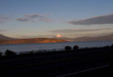 Mount McLoughlin from Klamath Falls-45 miles