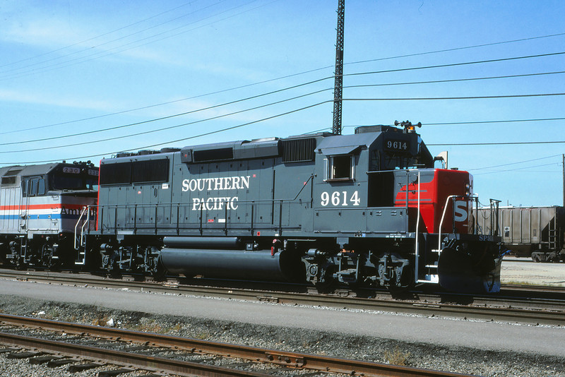 SPRR 437 - Sep 27 1988 - 9614 on # 6 @ Oakland CA
