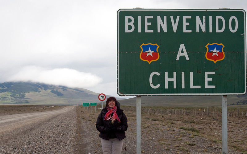 Welcome to Chile.  Near the Paso Rio Don Guillermo border crossing with Argentina.