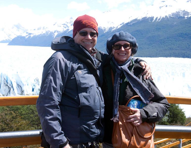 Perito Moreno Glacier. Los Glaciares National Park (South Zone) - a UNESCO World Heritage site.  Southern Patagonia.  Santa Cruz province, Argentina.