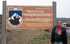 Welcome to Torres del Paine National Park.  Chile.  Laguna Amarga entrance.