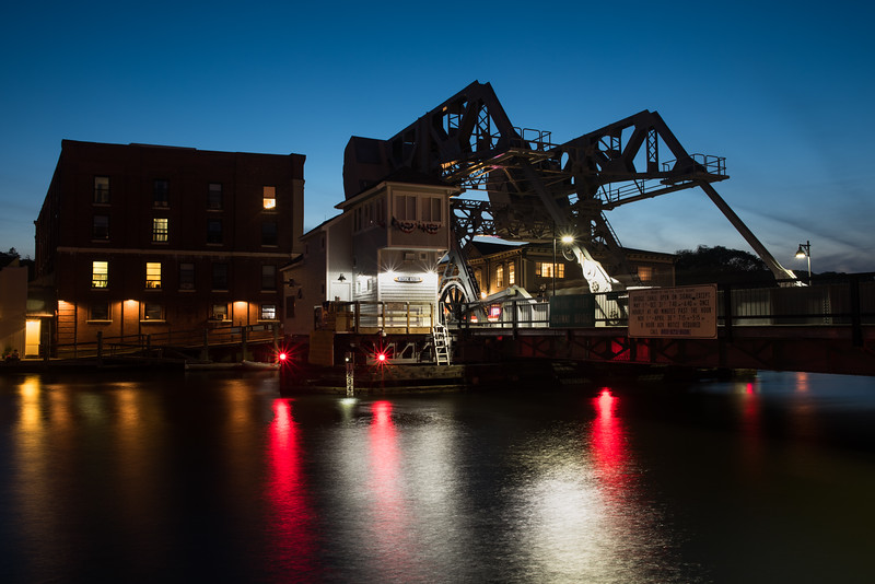 Mystic River Bascule Bridge