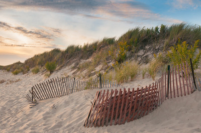 """Color on the Beach"" – Napatree Point at sundown."