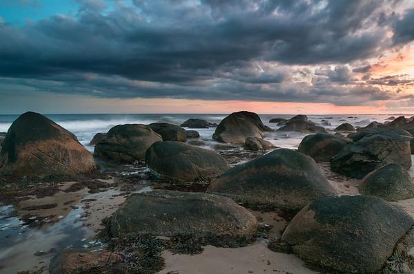 Stormy Sunset at Weekapaug