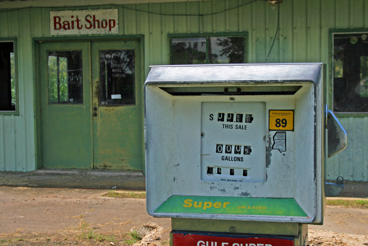 Great southern buildings and architecture from our past and present. Old gas pumps! Still around after all this time. These signs were found throughout the delta. Southern transportation comes in all forms. From tractors to mules, from trains to boats!