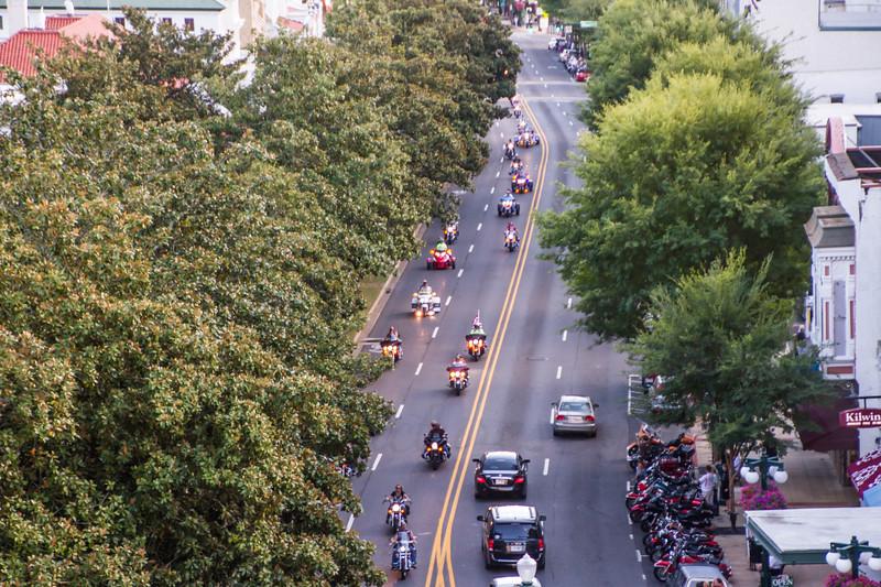 Parade Of Bikes