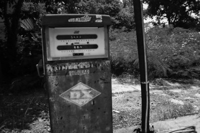 Some photos just scream for Black and White! These Mississippi Delta photos are no exception. Old gas pumps! Still around after all this time. Southern transportation comes in all forms. From tractors to mules, from trains to boats!