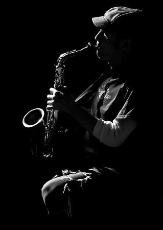 French Quarter Musician