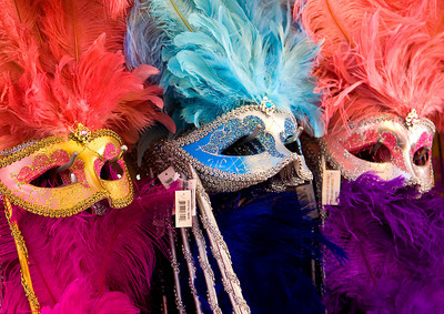 Mardi Gras Masks at French Market