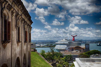 View from Castillo San Cristóbal