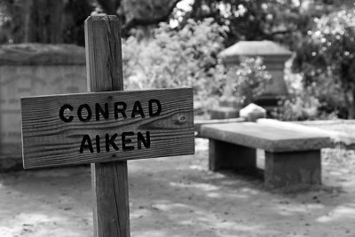 Conrad Aiken's Grave at Bonaventure Cemetery