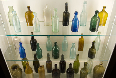 Old Fort Jackson Civil War Era Bottles