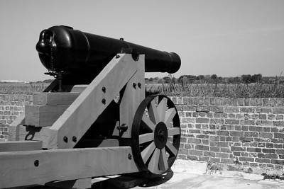 Old Fort Jackson Cannon
