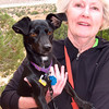 Dot Parkos and her pup, from Corpus Christi, Texas