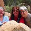 With Deb and Joan -- who traveled together from Texas in two trailers.