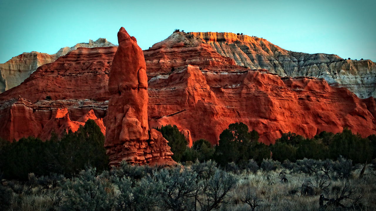 Koadchrome Basin State Park located in Southern Utah near Bryce Canyon National Park