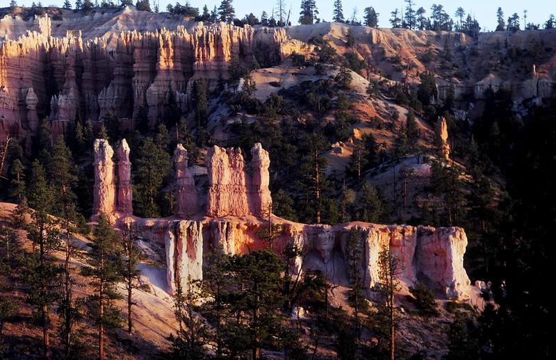 Nearly Sunset, Bryce Canyon National Park, Utah