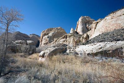 Along the Scenic Drive.  Capital Reef National Park.  Utah.