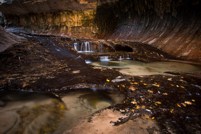 The Mysterious Subway - Zion National Park, Utah - Andrew Ehrlich - November 2013